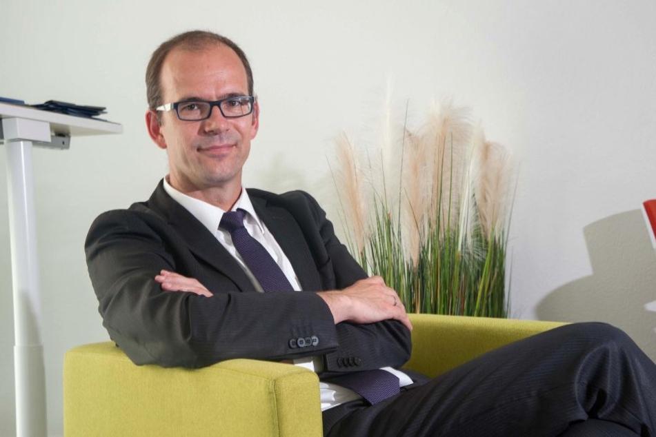 CWE-Chef Sören Uhle (41) will Händler, Gastronomie und Verwaltung an einen Tisch setzen.