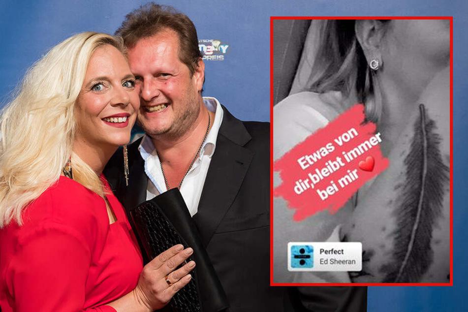 Liebestattoo für Jens Büchner: Danielas Trauer geht unter die Haut