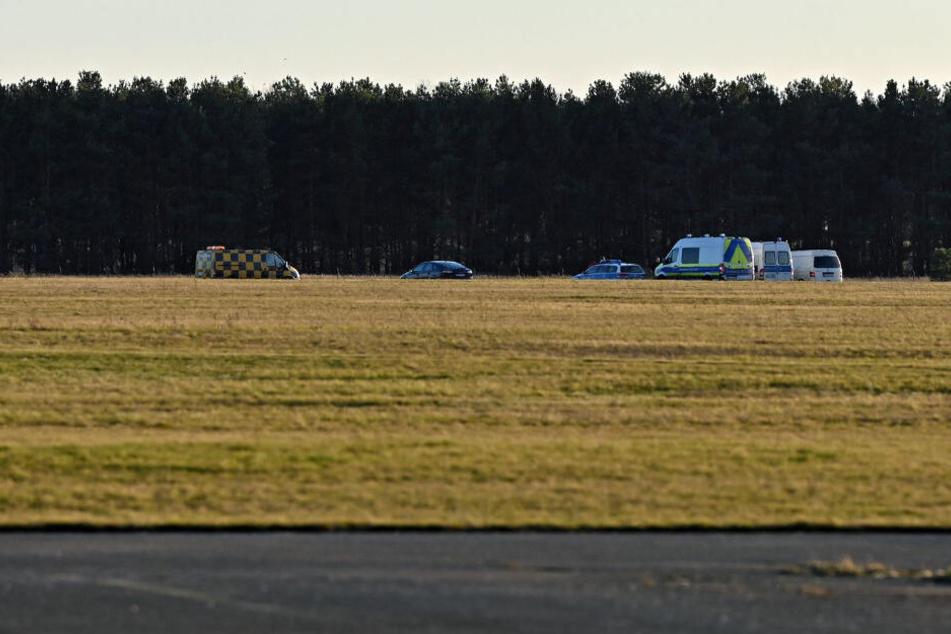 Zwei Tote bei Absturz von Kleinflugzeug nahe Berlin!