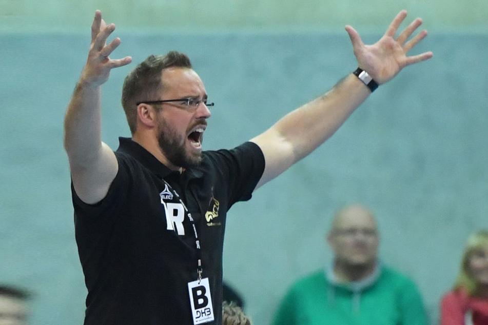 Elbflorenz-Trainer Christian Pöhler.