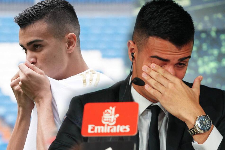Real-Neuzugang bricht bei Vorstellung in Madrid in Tränen aus!