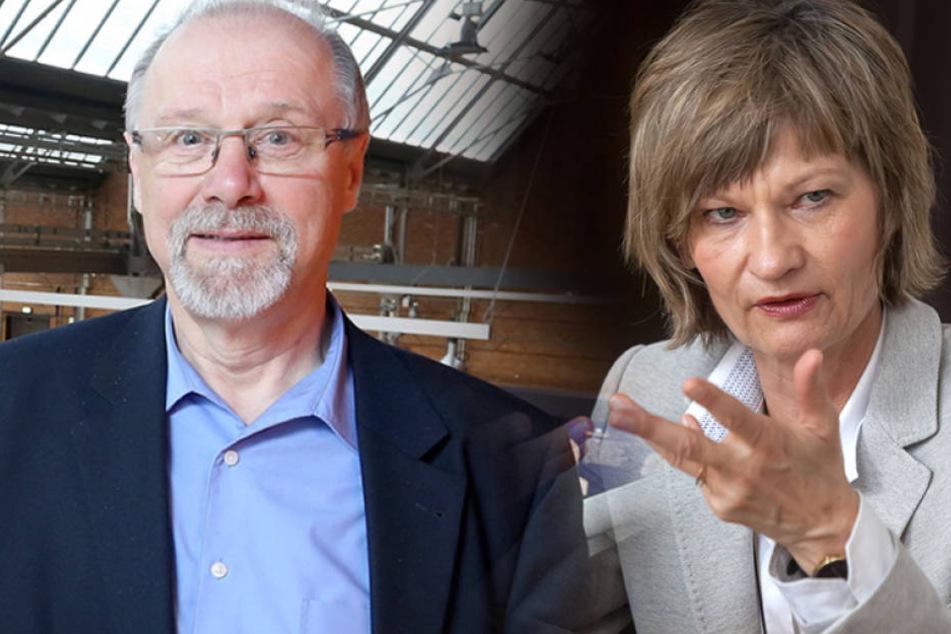 Gab es Differenzen zwischen Museums-ChefBerthold Brehm (65, CDU) undOberbürgermeisterin Barbara Ludwig (54, SPD)?
