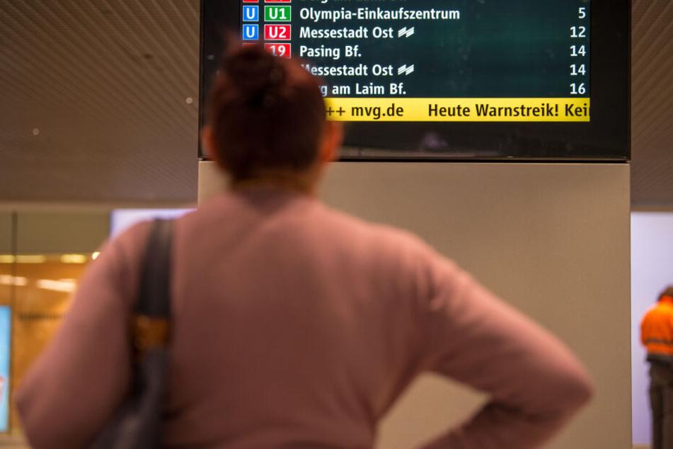 Streik im Nahverkehr: Die Infrastruktur rot die Bürger in Bayern besonders auf. (Archivbild)
