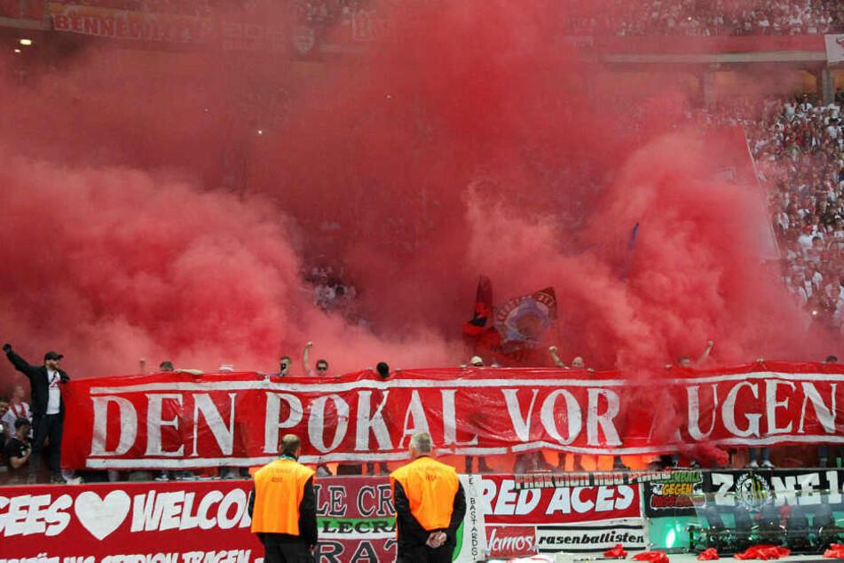Für das Zündeln der Fans erhielt RB Leipzig eine Geldstrafe in Höhe von 7000 Euro.