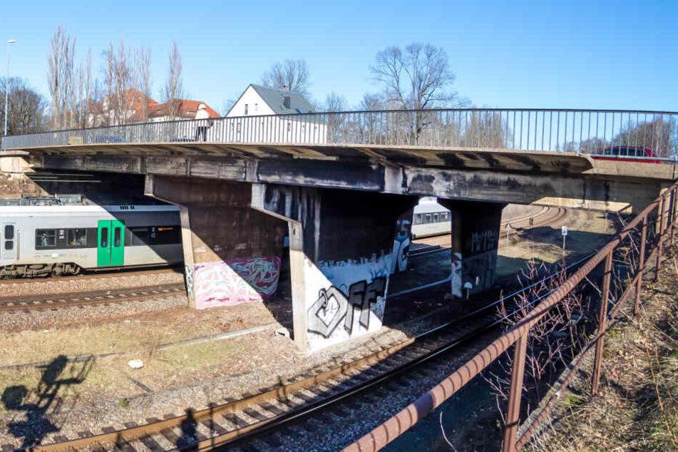 Ab 4.März wird die Zschopauer Straße über den Bahngleisen für neun Wochen komplett gesperrt.