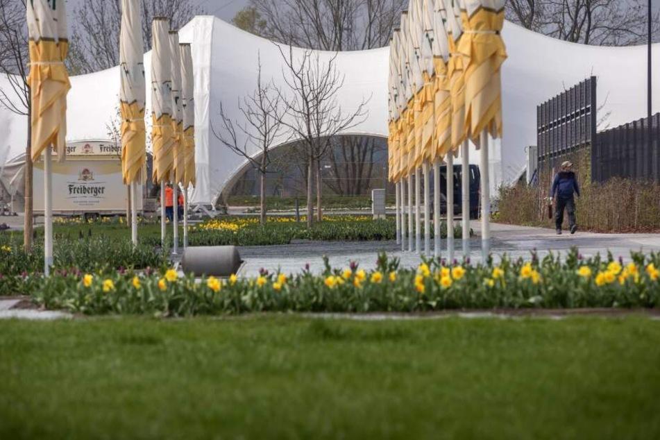 500 Bäume, 5000 Sträucher, über 20.000 Stauden und 150.000 Blumenzwiebeln warten auf die Besucher!