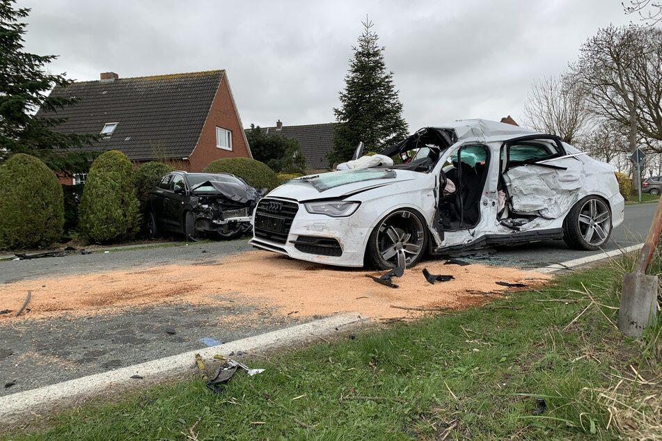 19-Jähriger kommt bei schwerem Frontal-Crash ums Leben