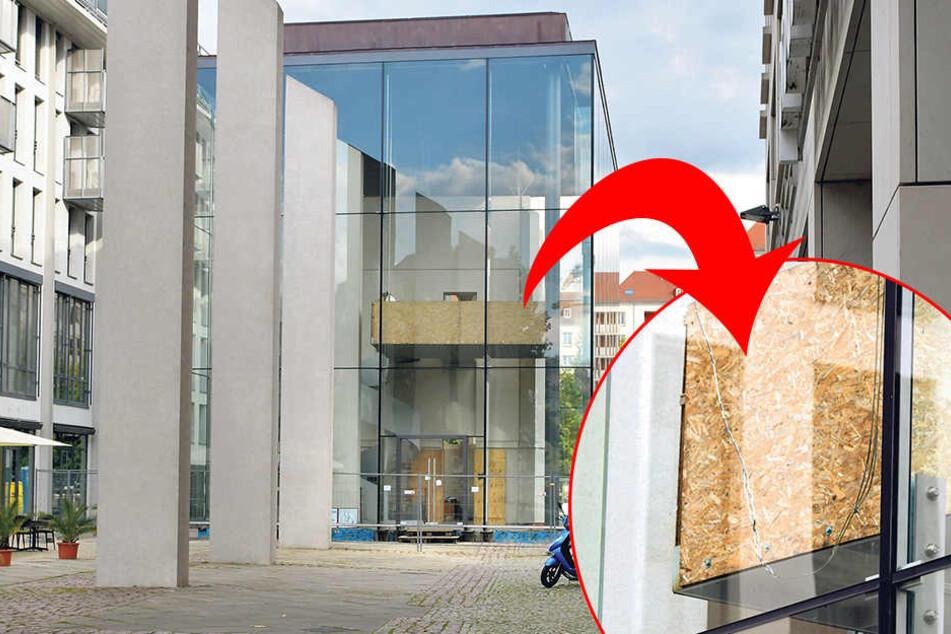 Baustellen-Panne: Riesen-Riss an der Busmannkapelle