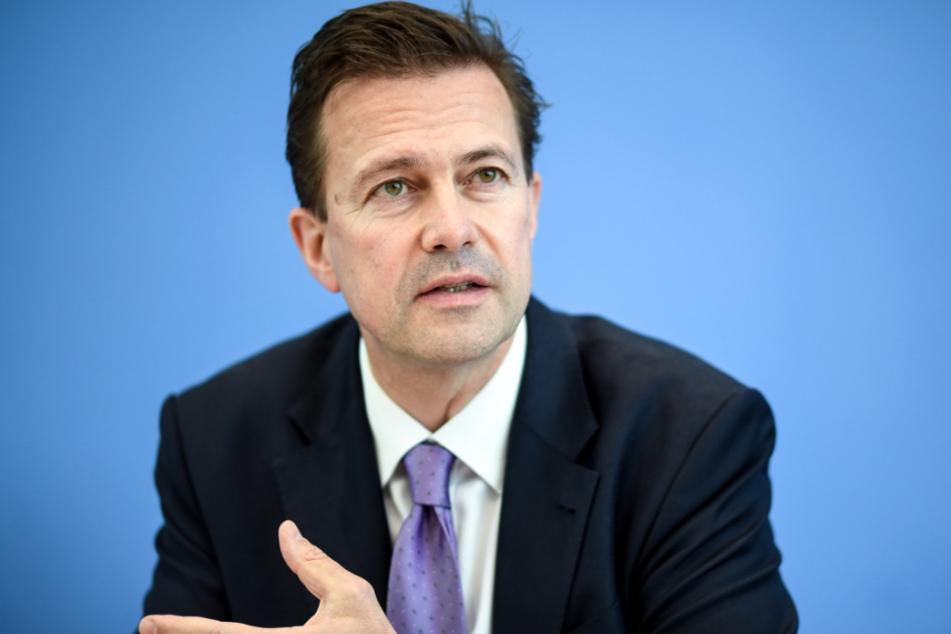 Steffen Seibert, Regierungssprecher der deutschen Bundesregierung.