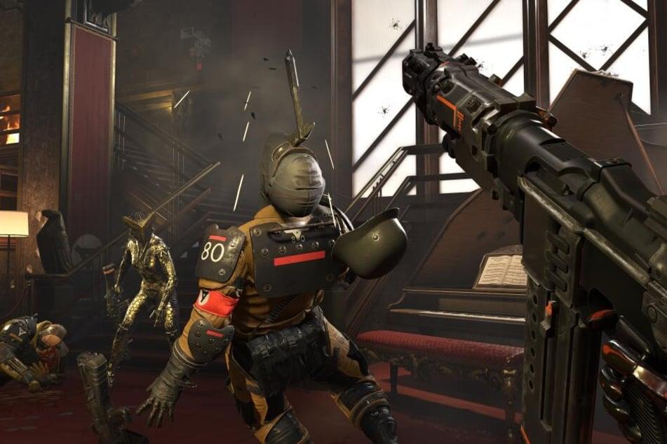 Anders als auf diesem Foto wird im Spiel auch Nazi-Symbolik zu sehen sein.