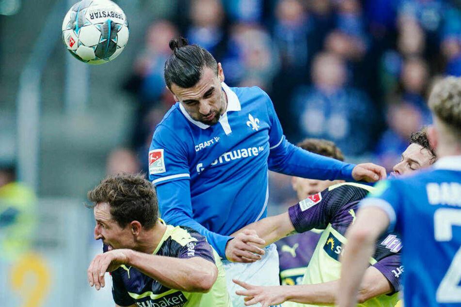 Darmstadt erspielte sich in der zweiten Halbzeit viele Chancen, blieb aber ohne Treffer.