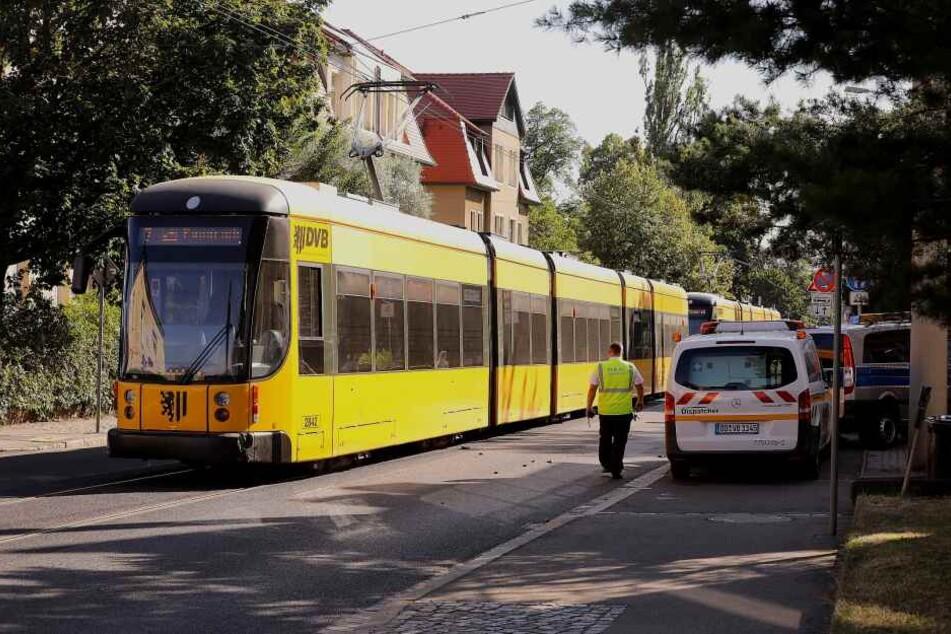 Der Bahnverkehr der Linie 7 war in Richtung Stadt kurzzeitig unterbrochen.