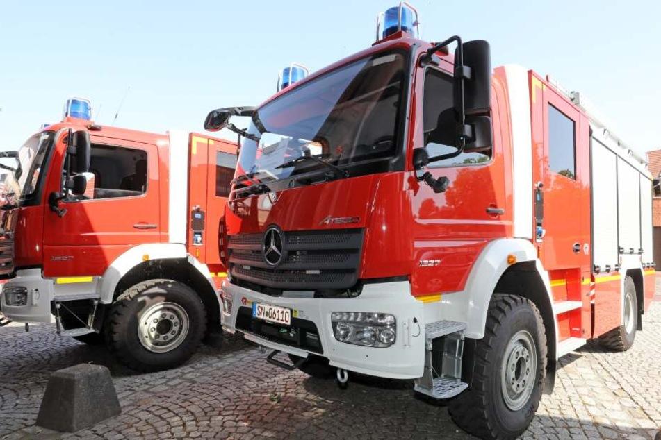 Mit 43 Einsatzkräften war die Feuerwehr vor Ort. (Symbolbild)
