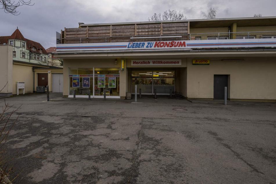 In diesem Konsum in Zwickau tauchten im Dezember 2019 die falschen 20-Euro-Scheine auf.