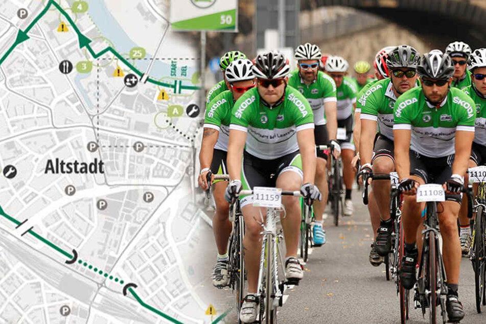 Aufgepasst! Radrennen legt am Wochenende die Innenstadt lahm