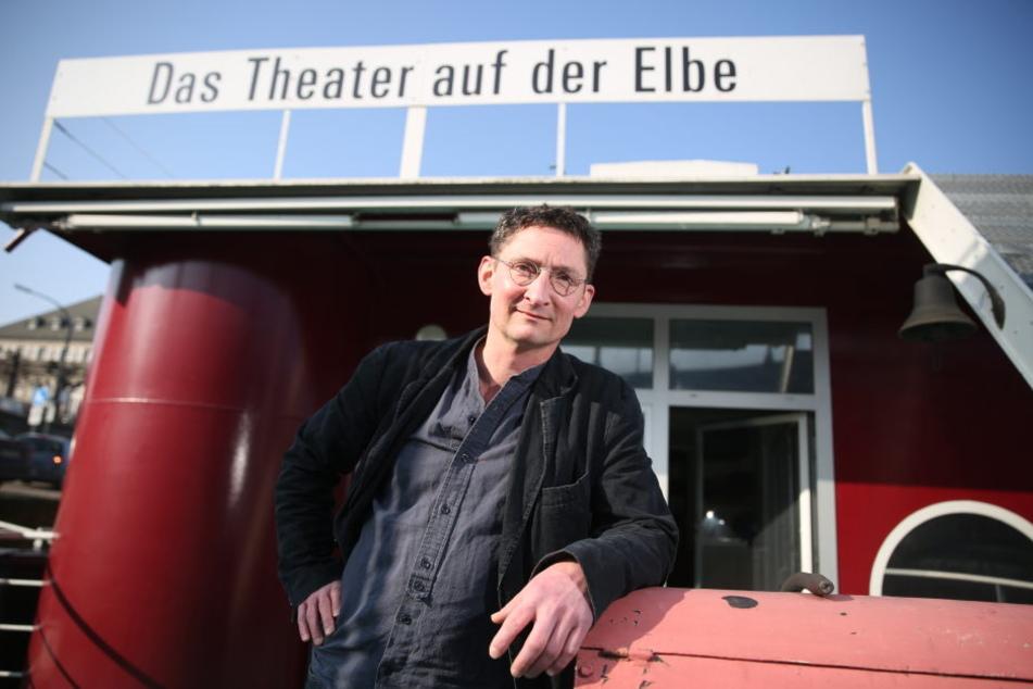 Holger Böhme ist der neue Intendant des Dresdner Theaterkahns.