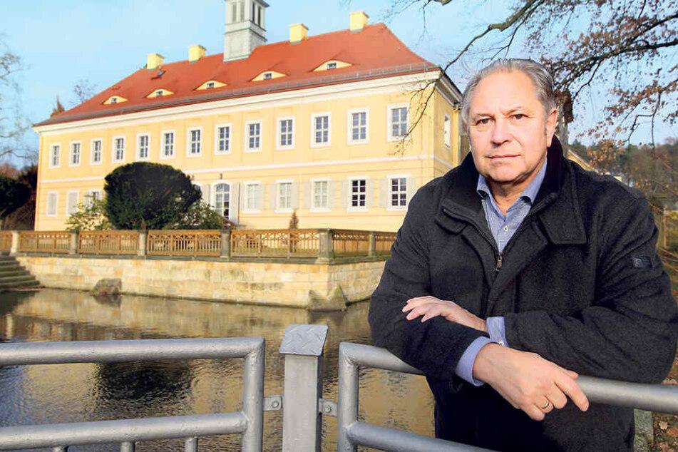 Ortsvorsteher Gernot Heerde (64, parteilos).