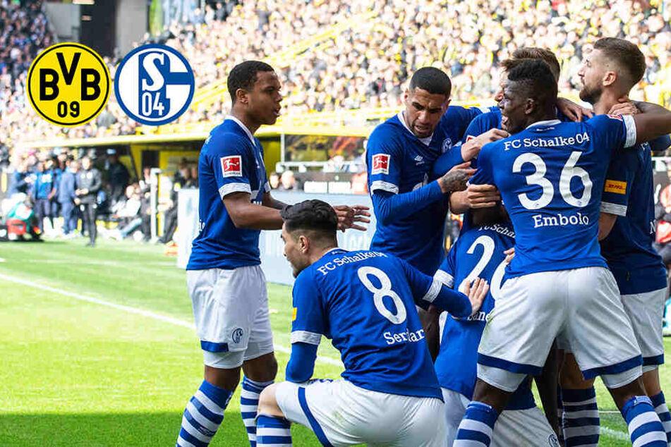 Derby-Sensation: Schalke spuckt BVB in die Meistersuppe, Dortmund mit Doppel-Rot!