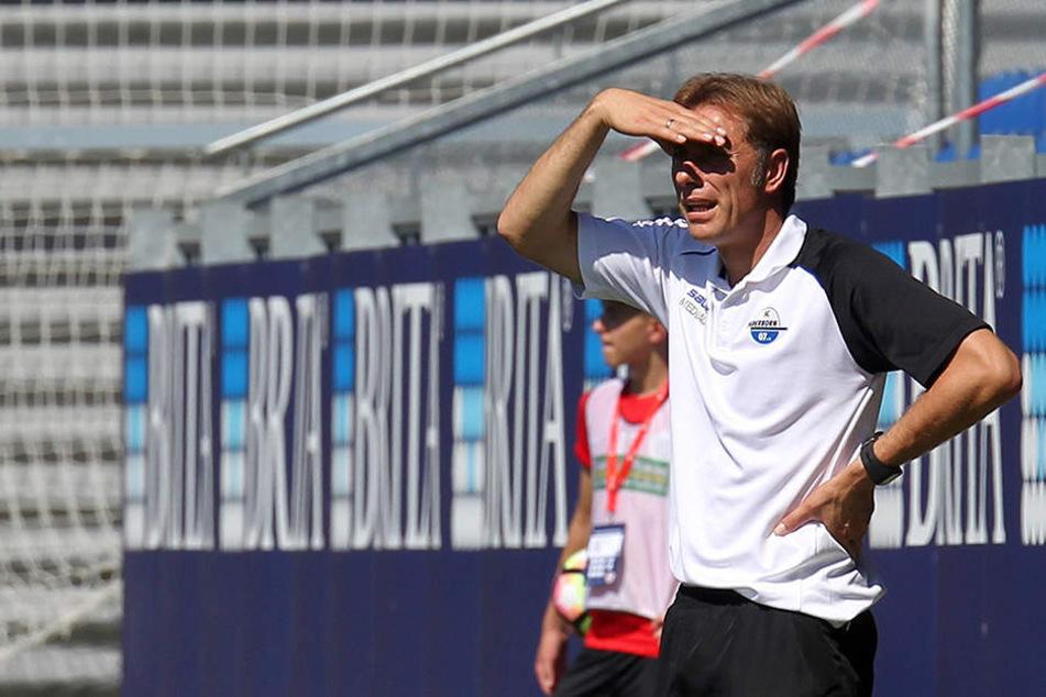 SCP-Trainer René Müller ist weiter auf der Suche nach der Konstanz mit seinem Team.