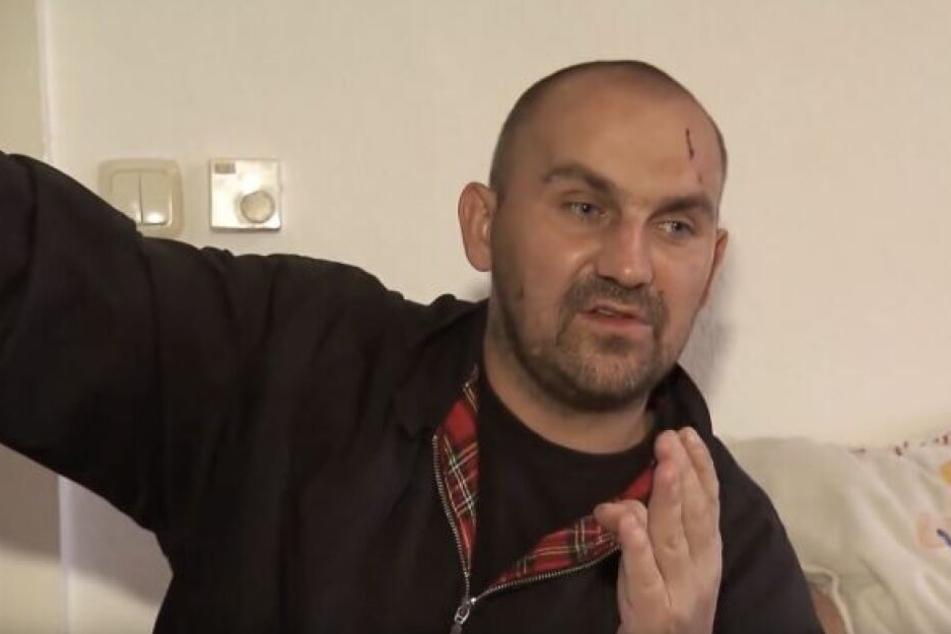 Auch der rechtsradikale Norman Ritter (35) aus Köthen sitzt derzeit erneut wegen mehrerer Delikte im Gefängnis.
