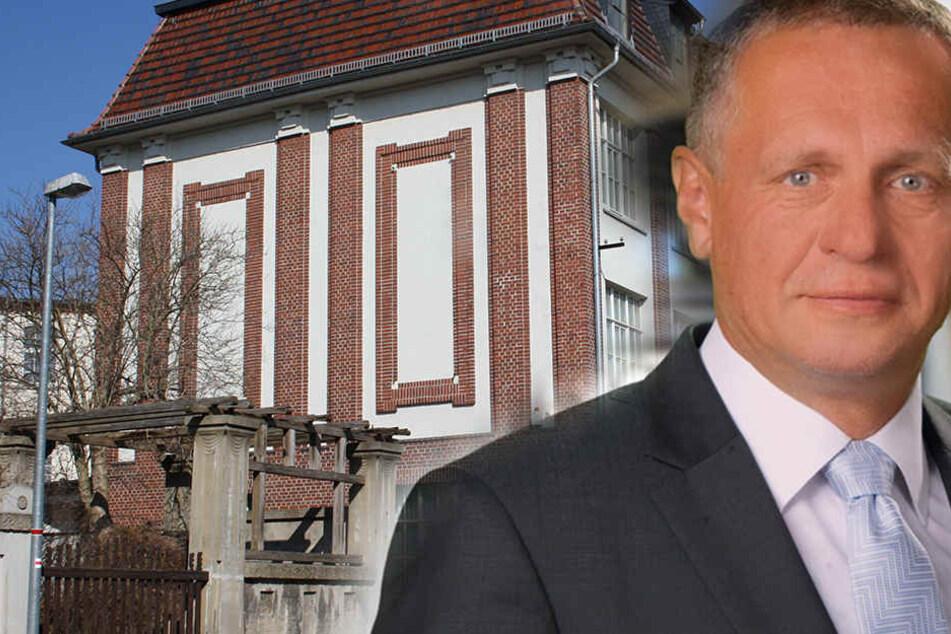 Crimmitschaus OB Holm Günther (61) freut sich: Seine Stadt beteiligt sich mit  der alten Tuchfabrik an der Landesausstellung.