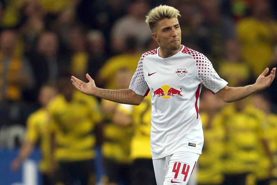 Der 27-jährige RB-Leipzig-Kicker musste seinen Einsatz für die slowenische Nationalmannschaft vorzeitig abbrechen.