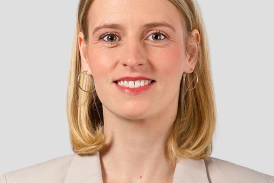 Franziska Riekewald (39, DIE LINKE.) tritt zur Wahl des Oberbürgermeisters am 2. Februar in Leipzig an.