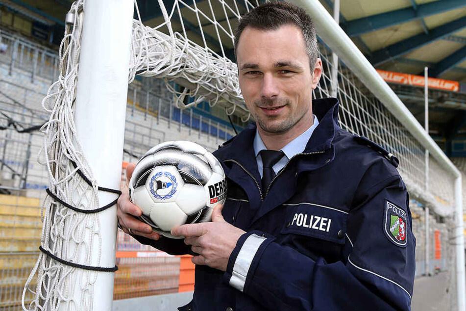 In Bielefeld wurde Dennis Eilhoff schnell zur Kultfigur.