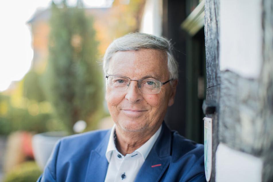 Politiker Wolfgang Bosbach (66) kommt auch aus Bergisch Gladbach und kennt Heidi Klum schon seit Jahrzehnten.