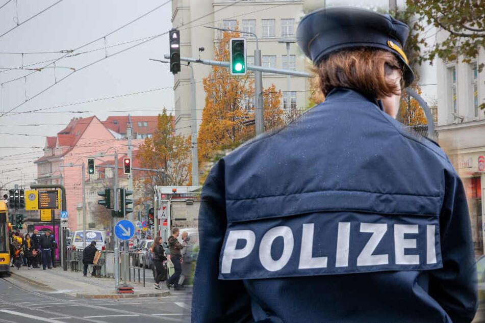 Am Albertplatz wurde ein 19-Jähriger attackiert (Symbolbild).