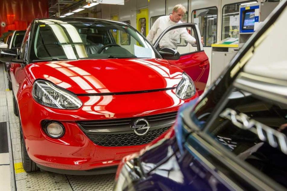 Die Mitarbeiter am Standort Eisenach dürfen sich berechtigte Hoffnungen machen, auch nach 2019 Opelmodelle hier zu bauen.