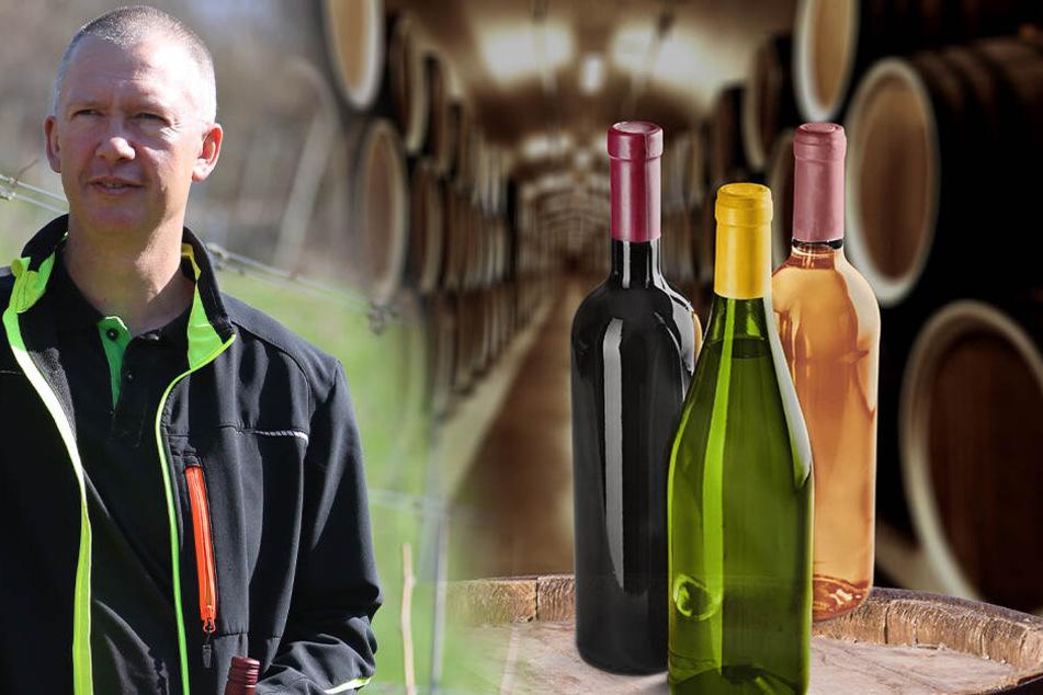 """Winzer Jan Ulrich hatte noch Glück: """"Meine Flaschen können noch rechtzeitig geliefert werden."""""""