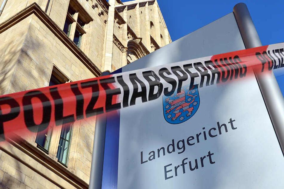 Bombendrohung! Landgericht Erfurt wird evakuiert