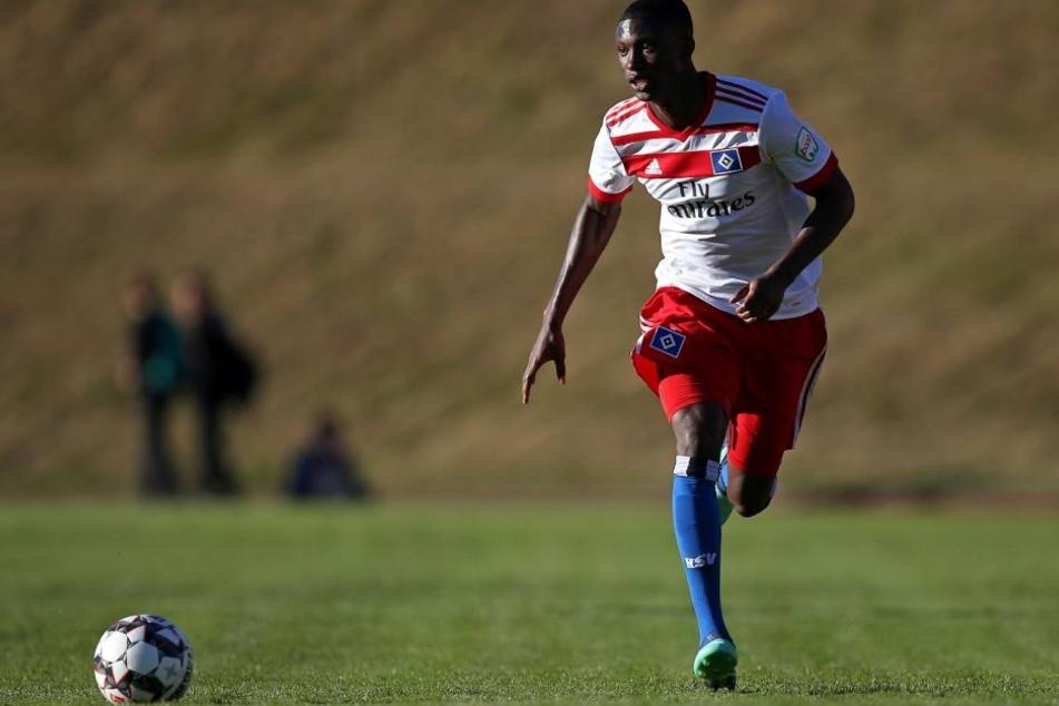 Aaron Opoku wird in der neuen Saison den Profikader des HSV verstärken.