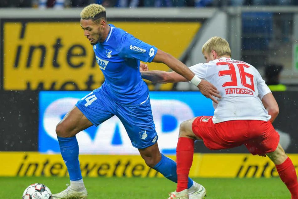 Acht Pflichspiel-Treffer gelangen dem Brasilianer Joelinton bereits in der laufenden Saison für die TSG Hoffenheim. (Symbolbild)