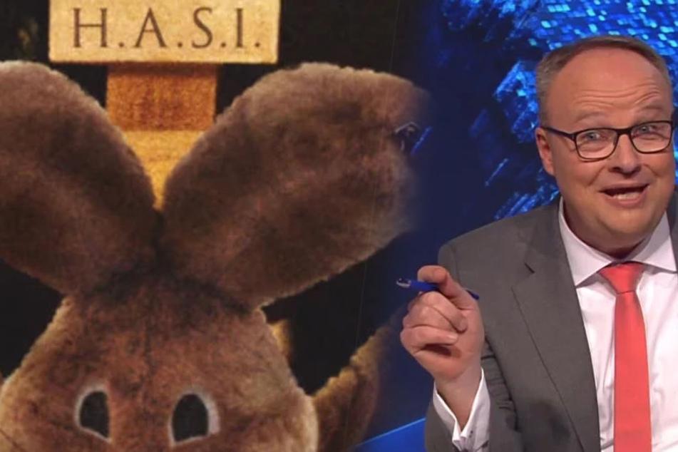 Entschuldigung wegen dieses Fotos: Es zeigte einen gekreuzigten Osterhasen - und das in einer Satire-Show!