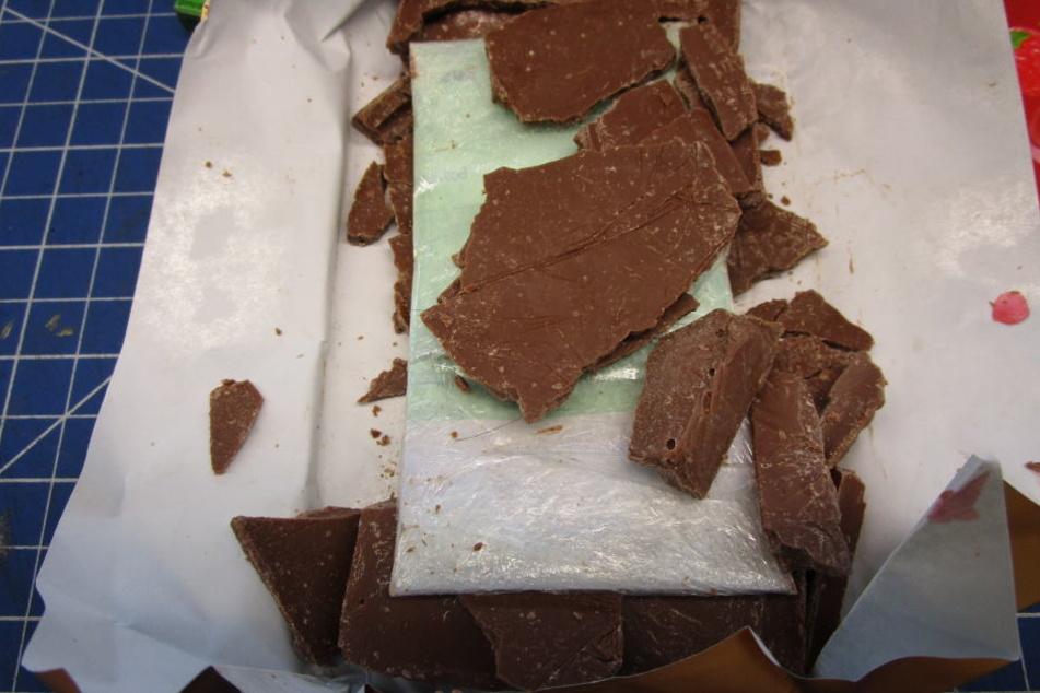 Kaum zu fassen, was in dieser Tafel Schokolade steckte...