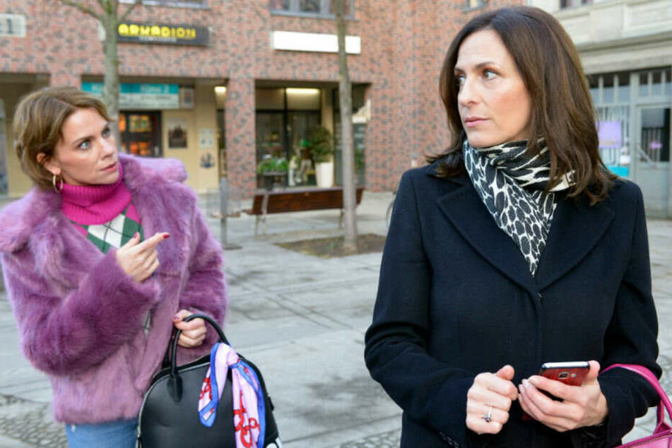 Katrin will durch Yvonne ihre Rache an Laura verwirklichen.