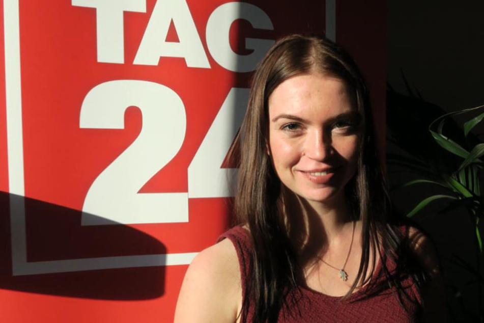 Die 23-Jährige lebt und arbeitet seit einigen Jahren bei Leipzig.