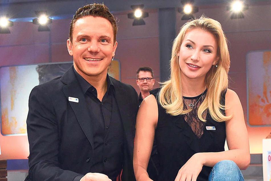 Anna-Carina Woitschack (25) bringt nächste Woche ihr neues Album heraus. Darin geht es um die Liebe zu ihrem Freund Stefan Mross (42).