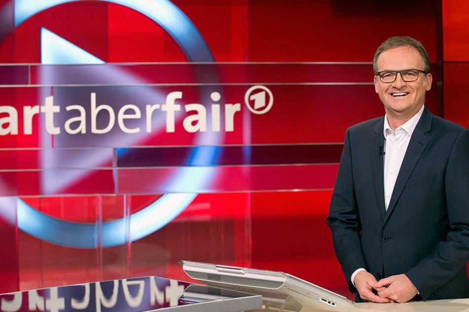 """Frank Plasberg (60) moderiert am Montag ab 21 Uhr in der ARD: """"Wampe oder Waschbrettbauch - gibt es gutes Leben ohne schlechtes Gewissen?"""""""