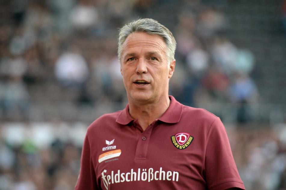 Uwe Neuhaus weiß, dass Niklas Hauptmann noch eine Weile länger benötigen wird.