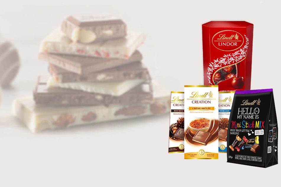 Teste jetzt kostenlos Lindt-Schokoladen!
