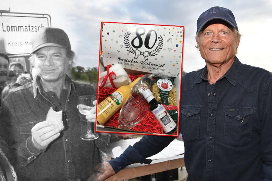 Zum 80. Geburtstag! Terence Hill bekommt Eierlikör und viele liebe Grüße aus Lommatzsch
