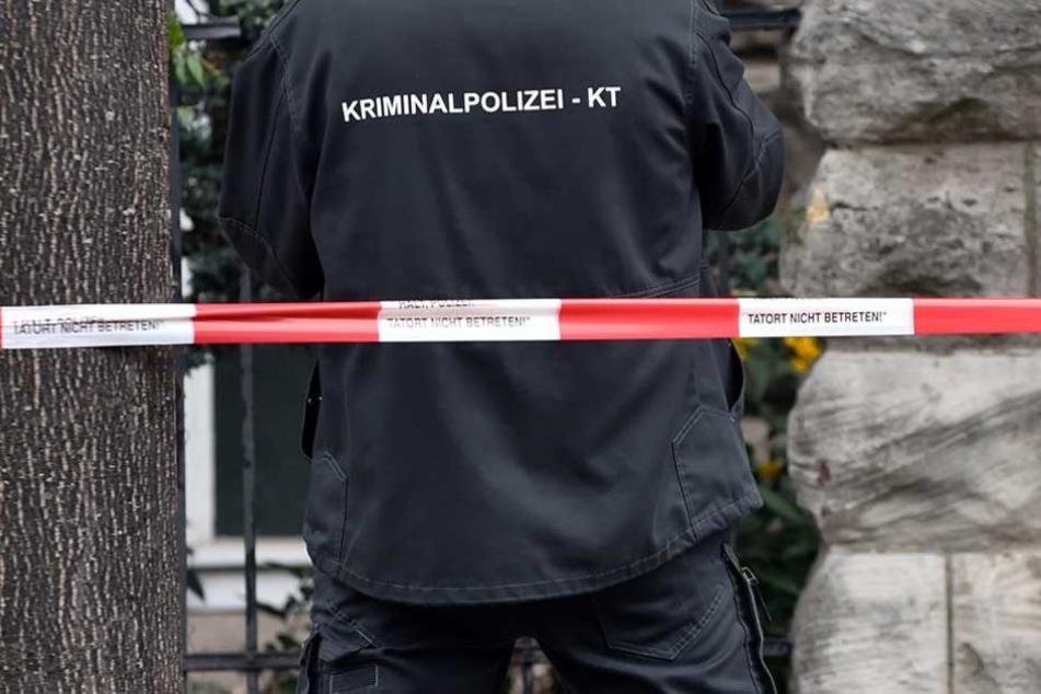 Die Kripo ermittelt (Symbolbild).