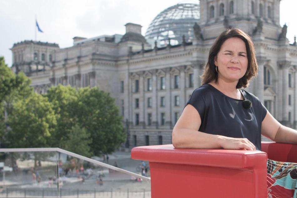 """""""Es muss sich was verändern"""": Grüne-Chefin Baerbock fordert Regierungswechsel"""