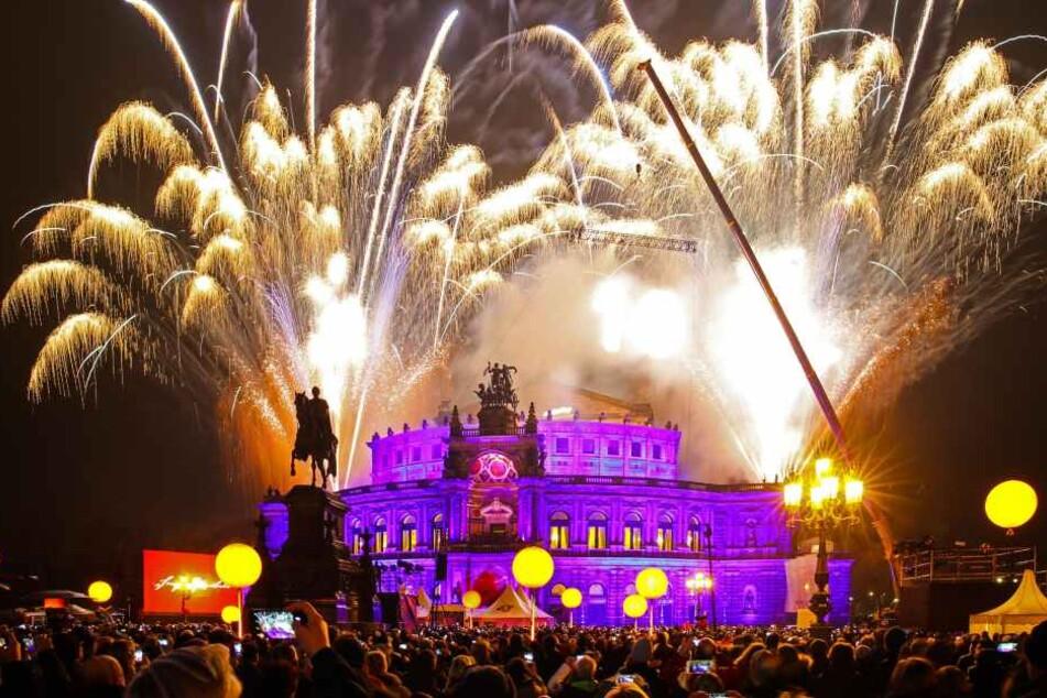 In Dresden soll es zukünftig weniger große Feuerwerke geben.