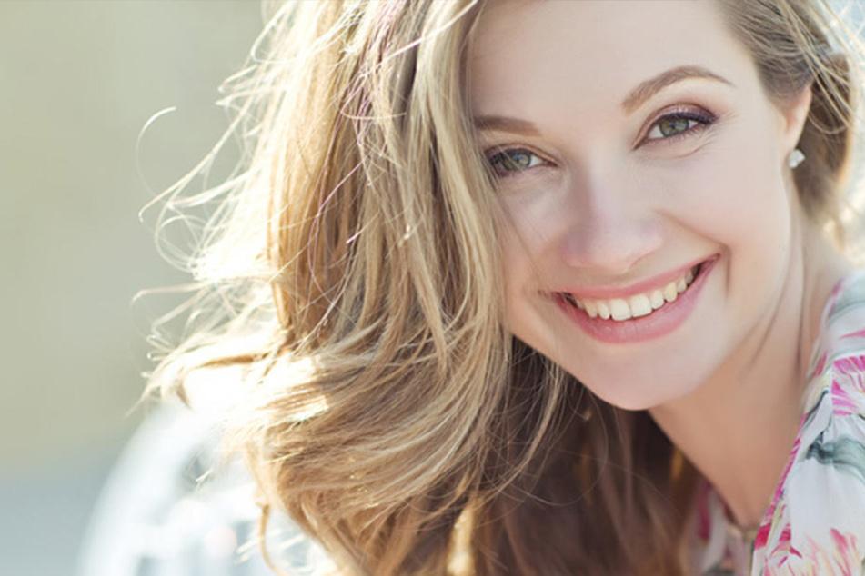 Gesunde und schöne Zähne sind das Markenzeichen aller Models.
