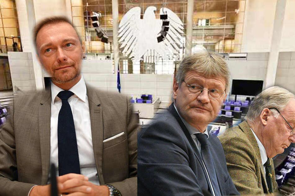 FDP will nicht neben AfD im Bundestag sitzen