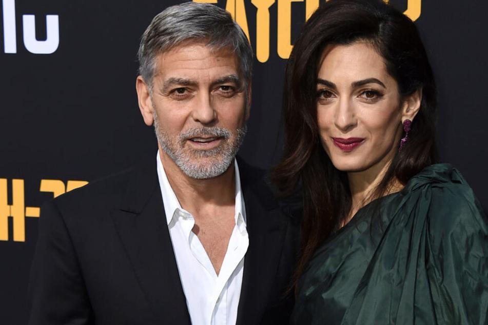 Schock für die Clooneys: 14-Millionen-Anwesen überschwemmt